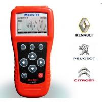 OBDII code reader Maxidiag FR704 for French Vehicles Diagnoses Engine , A/T ABS and Airbags Manufactures