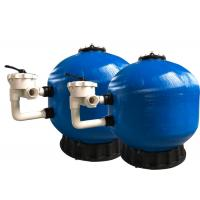 Fiberglass Pool Side Mount Filter , Swimming Pool Filter System High Durability Manufactures