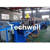16 Forming Stations Steel Shelf Rack Roll Forming Machine With Galvanized Coil Or Carbon Steel Manufactures