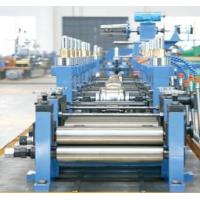 Fully Automatic Straight Welded Tube Mill Line 400KW 20-60M/Min Manufactures