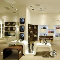 Bag display cabinet with free handbags store interior design decoration Manufactures