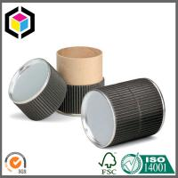 Black Color Food Grade Cardboard Paper Tube; Recyclable Paper Packaging Tube Manufactures