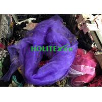 Colorful Used Silk Scarves / American Style Second Hand Silk Scarves Manufactures