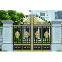 Courtyard Gate garden plant accessories with Optional Model 120W 1200N 4.5m electric courtyard door carport Manufactures