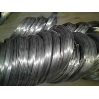 High Carbon Spring Steel Wire Black Oiled or Galvanized 1 . 2 mm And 2mm Flexible Duct Manufactures