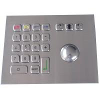 IP65 304 stainless steel  trackball pointing device mouse USB interface Manufactures