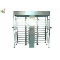 Card Reader Full Height Security Turnstiles , Turnstile Gate Systems Manufactures