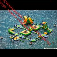 Inflatable Slide/ Inflatable Water Games/ Amusement Park / Giant floaing water park Manufactures