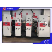 3 Color Automatic Corrugated Carton Printer Slotter Die Cutter Manufactures
