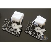 Buy cheap Cancer Aids Logo Custom Metal Enamel Soft Enamel Medals, Spray Black Plating And from wholesalers