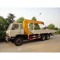 dongfeng 6*4 12ton cargo truck with crane for sales, hot sale 210hp dongfeng dump truck with 8ton-12ton XCMG brand crane Manufactures