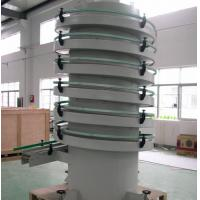 Quality Electric Worm Conveyer Spiral Conveyor Systems C Type Vertical Lifting for sale