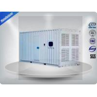 Three Phase Diesel Container Generator Set 75 Db 1000 - 1250 Kw / Kva Water - Cooled Manufactures