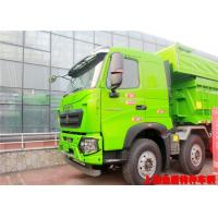 High Speed 380hp Special Vehicles 31 Ton HOWO 8x4 Dump Truck Manufactures