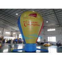 Quality Pure Color Hot Air Balloon Model Inflatable Balls For Outdoor Business for sale