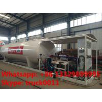 30m3 15tons skid lpg gas station with lpg gas dispenser for sale, Wholesale bottom price 30,000L skid lpg gas plant Manufactures
