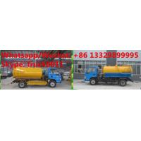 Quality Factory customized high quality and lower price JAC 4*2 LHD 5m3 vacuum tank truck for sale, sludge tank truck  for sale for sale