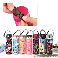 Reusable Cartoon H18CM Insulated Bottle Sleeve For Kids Manufactures