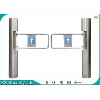 Bi-Directional Full Automatic Supermarket Swing Gate Waterproof Turnstiles Manufactures