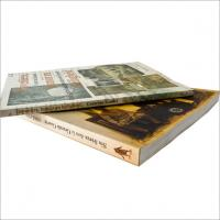 OEM 4c+4c matt lamination Softcover Book Printing Service with perfect binding Manufactures