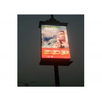 Smart Lamp Pole Wifi 4G SMD3535 P6 LED Advertising Billboard Manufactures