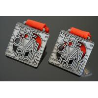 Buy cheap The Oval Run Make A Custom Metal Award Medals For Your Sport Events, Bespoke from wholesalers