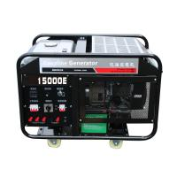 Chongqing Power Electric 15kw portable gasoline generator set air cooling engine 2 cylinder Manufactures