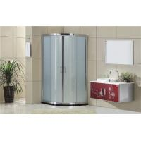 Simple Aluminum Alloy Quadrant Shower Cubicles 1900mm Height For House / Hotel Manufactures