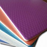 Chameleon/Embossed Aluminum Composite Panels with Diamond Embossed Front Sheet Manufactures