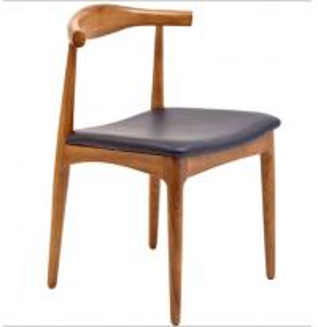 Buy cheap Hans Wegner Replica Horn Design Solid Oak Wood Restaurant Dining Chair from wholesalers