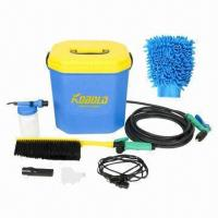 Portable Car Washer Machine/High-pressure Water Pump/Automatic Clear Tool, Ideal for Outdoor Manufactures