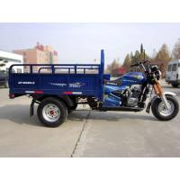 Chinese Three Wheel Motorcycle , 150CC Cargo Tricycle Heavy Load High Performance Manufactures