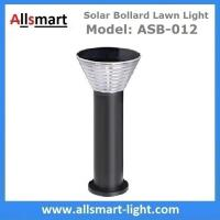 Quality 60cm/24inch Solar Bollard Lawn Lights Solar Yard Light Cement Bollard Solar for sale