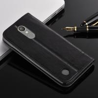 Card Slot Magnetic LG K8 Flip Cover , Side Flip Style Protective Leather Case Manufactures