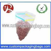China LDPE Double Seal Reclosable Plastic Zipplock Bags , LDPE/HDPE Packaging Bag on sale