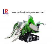 China Self Propelled Rubber Tracked Small Agriculture Harvester For Wheat / Rice Harvesting on sale