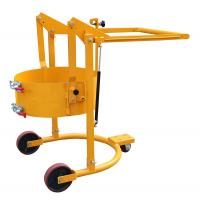 Maximum Lifting 200mm Mechanical Drum Lift With Hoop Structure