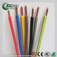 Flame Retardant Cables, Single Core Wire Strands Conductor H07V-k 35.0MM2 Manufactures