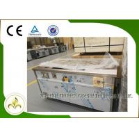Buy cheap Natural Gas Teppanyaki Grill Table Rectangle Fume Down Exhaust Stainless Steel CSA from wholesalers
