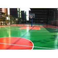 Multi Purposed PU Outdoor Sports Court Flooring Thick For Basketball Court Manufactures