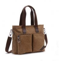 Canvas Large Capacity Cross Shoulder Bag Single Shoulder With Adjustable Straps Manufactures