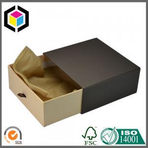 Elegant Drawer Shape Gift Paper Packaging Box Ribbon Manufactures