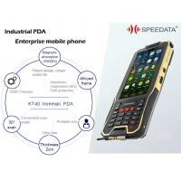 Buy cheap Smartphone PDA Mobile Device , Cordless Laser Barcode Scanner 2G 5G WIFI 4G Connection from wholesalers
