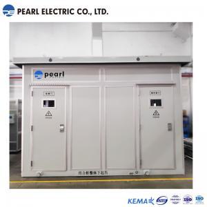 2400 Kva 35 Kv Prefabricated Substations In Box type Aluminum Alloy Enclosure Manufactures