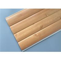 Quality Fireproof Pvc Wall Panels Lightweight With Four Circular Arc 8.5 Mm Thickness for sale