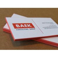 Film Lamination Surface  Business Paper Cards For Disposable Packaging Manufactures