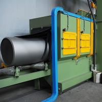 Roller Conveyor Type Shot Blasting Machine For Steel Pipe/Tube surface cleaning Manufactures