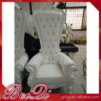 Cheap King Throne Chair Golden Style Furniture Manicure Pedicure High Back Throne Pedicure Spa Chair Manufactures