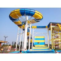 Giant Boomerang Water Slide For Family / Outdoor Water Park Equipment Manufactures