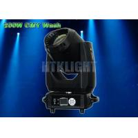 Light Weight CMY LED Based Moving Heads Lights 200W 15 - 45 Degree Zoom Angle Manufactures